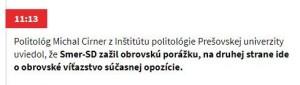Cirner noviny sk